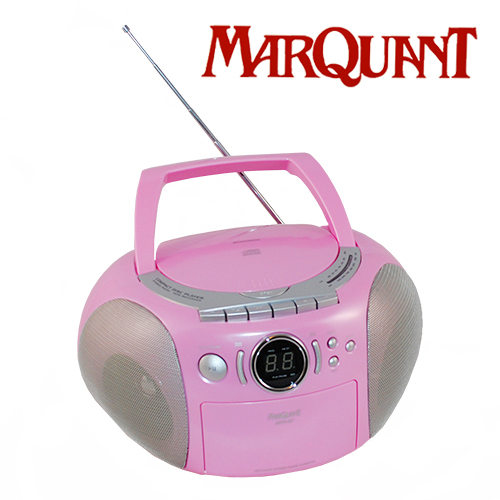 cd radio mit kassette mpr 87 tragbarer kinder player pink. Black Bedroom Furniture Sets. Home Design Ideas